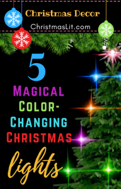 Color Changing Christmas Lights