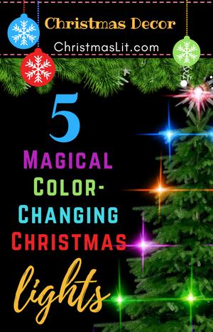 Color Changing Christmas Lights - ChristmasLit.com