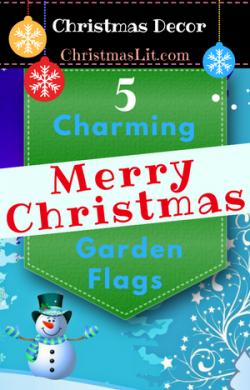 Merry Christmas Garden Flags