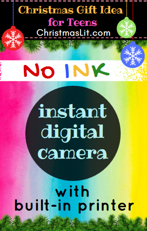 Best No Ink Instant Digital Camera with built in printer